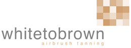 WHITE TO BROWN LOGO